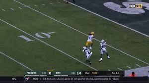 Jake Kumerow touchdown vs jets - YouTube