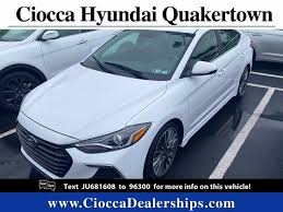 Maybe you would like to learn more about one of these? Used 2018 Hyundai Elantra For Sale In West Chester Kmhd04lb7ju681608