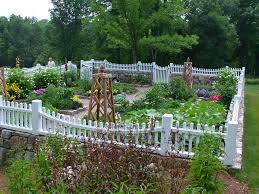 flower garden design landscape traditional with vegetable garden mixed plants stone planters