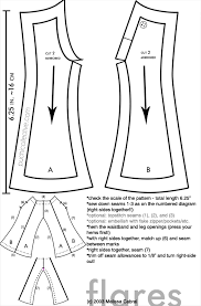 Flare Pants Pattern Best Blythe Flared Pants