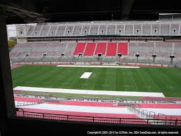 Hobart Arena Seating Chart Ohio Stadium View From Section 18b Vivid Seats