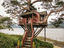 Treehouse At The Lodge In Loch Goil, Scotland