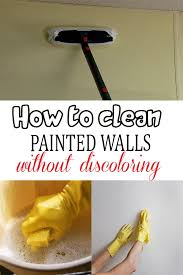 clean painted wallsHow to clean painted walls without discoloring  Magical Cleaning