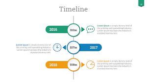 Timeline Slide Template Timeline Google Slides Template