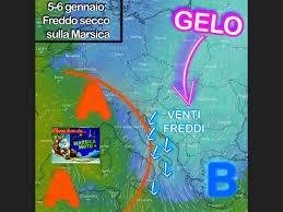 Marsica Meteo: previsioni meteo per il 5 e lunedì 6 gennaio ...