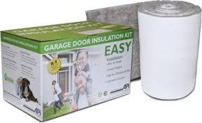 insulation for garage doorGarage Door Insulation Kit DIY R9 Complete Garage Insulation