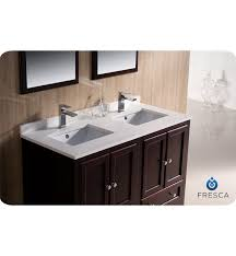 48 inch bathroom vanity with sink. top fresca oxford 48 double sink bathroom vanity mahogany finish inside plan inch with