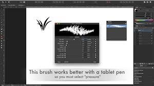 Ezine Design Software Affinity Designer Tutorial 11 Create Your Own Brush