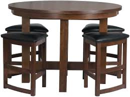 tall table set full size of brown round kitchen table sets with counter height round kitchen tall table set