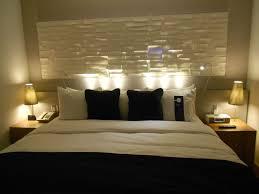 Width Of King Headboard Bed Frame Geometric King Bed Headboard With Honeycomb Pattern