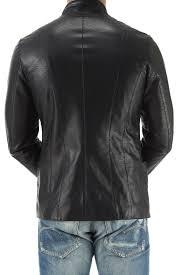 clothing for men emporio armani men s leather jackets dark brown fashion 349095 sq7v6ypefkjc sq7v6ypefkjc 113 18