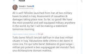 Operazione 'Soleimani Martire': l'Iran attacca le basi USA ...