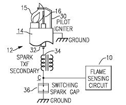 patent us20120288806 flame sense circuit for gas pilot control patent drawing