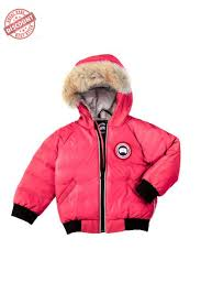 The Great Rebate Canada Goose Reese Bomber Sunset Pink Baby s Online 65%  Discount