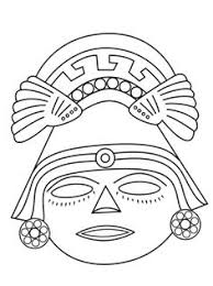 08bdf670fd08ffc0130627f67907cc60 printable crafts free printable mayan mask template google search wednesday night bible study on happy face mask template