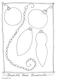 Small Picture Christmas Ornament Coloring Pages Coloring Coloring Pages