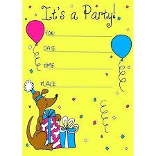 Free Printable Birthday Invitation Templates For Kids Kids Birthday Invitation Template New Marvelous Free Printable Party