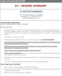 Photographer Resume Objective Resume Of A Photographer Mattbrunsme 74