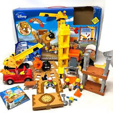 How To Price A Construction Job Disney Fisher Price Handy Manny Big Construction Job Playset Toy