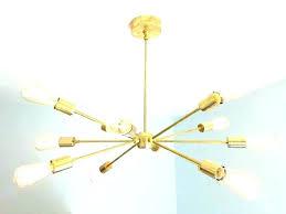 mid century chandelier post west elm modern uk cen mid century chandelier
