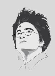Harry Potter Adobe Illustrator Daniel Redclif My
