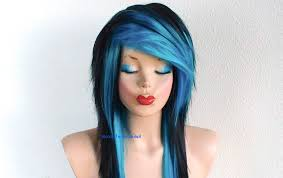 Emo Girl Hair Style black scene hairstyles for girls women medium haircut 5375 by wearticles.com