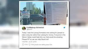 """9News Denver On Twitter: """"homeless Man Goes Viral For Handing Out ..."""