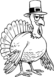 Thanksgiving Turkey Coloring Pages Get Coloring Pages