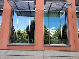 Sonnenschutzfolie Fenster Außen Haus Ideen