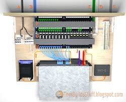 here s an example of what a structured wiring panel may look like using this configuration