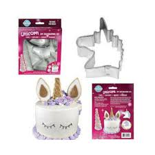 Unicorn Cake Fondant Cookie Cutter Decorating Set This Little Party