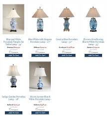 blue and white lamps. Blue White Table Lamp And Lamps