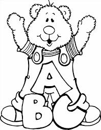 Small Picture Teddy Bear Coloring Pages Page Free Printable For Pe creativemoveme