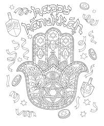 Chanukah Coloring Pages Dapmalaysiainfo