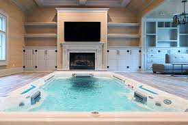 pioneer family pools endless pools systems indoor instal swim spa reno
