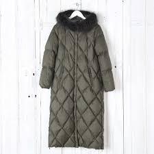 Buy Max Mara Weekend Gel Quilted Coat in Khaki | Collen & Clare & Gel Quilted Drop - Proof Canvas Down Jacket Adamdwight.com