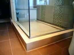 concrete shower floor floors how to tile a within prepare diy finished concrete shower floor