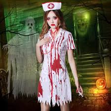 Brands WYB Cosplay Costumes In Accordance With The Special Dance Bloody  Halloween Party Dance Dress Uniform Nurse Group Costumes For 4 Party Costume  From ...