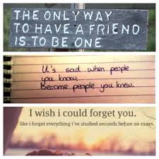 Losing a friend is horrible:( it's happened to me twice. that's ...