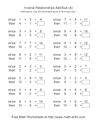 Free Printable Addition And Subtraction Worksheets Subtraction ...