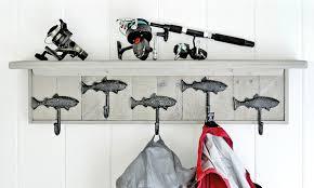 Fish Coat Rack Beauteous Alpine Craft Works Fish Driftwood Coat Racks