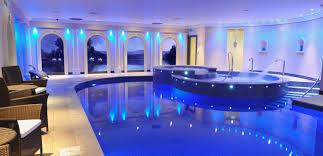 Cool indoor swimming pools Design Indoor Swimming Pool Wallpaper Home Stratosphere Indoor Swimming Pool Wallpaper 1600x773 Id35966