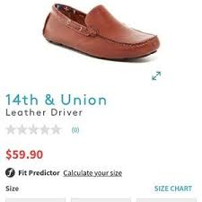 14th And Union Size Chart 14th And Union Loafers