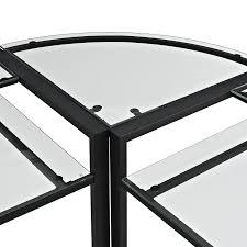 full size of desks staples walker edison l shaped glass computer desk black glass corner