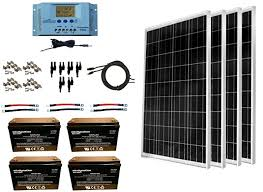 best all in one kit windynation 400 watt solar panel kit