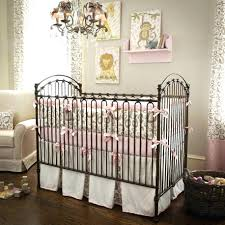 country crib bedding themed sets girl chic nursery