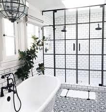 classic white bathroom ideas. Black And White Bathroom Idea Classic Ideas G