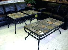 slate top end table top coffee and end tables furniture table round black sunny designs slate top tables devon