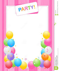 Party Invitation Background Image Party Invitation Background Stock Vector Illustration Of Card