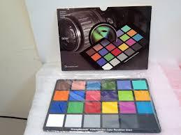 Gretagmacbeth Colorchecker Chart 80 Complete Colorchecker Color Rendition Chart